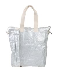 Lyst - Drkshdw By Rick Owens Shoulder Bag in Gray for Men aaba16616ffa3