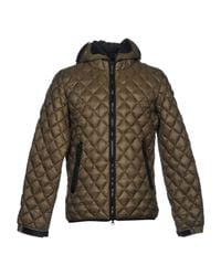 Ai Riders On The Storm - Green Synthetic Down Jacket for Men - Lyst