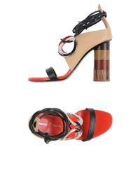 Proenza Schouler - Black Sandals - Lyst