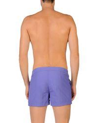 COAST SOCIETY - Purple Swimming Trunks for Men - Lyst