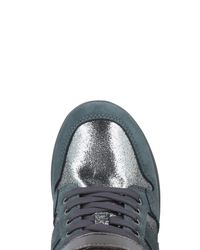 Armani Jeans Gray High-tops & Sneakers