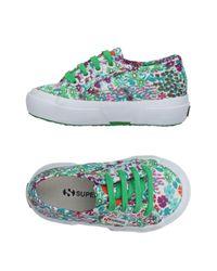 Superga - Green Low-tops & Sneakers - Lyst