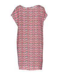 Marco Bologna - Pink Short Dresses - Lyst