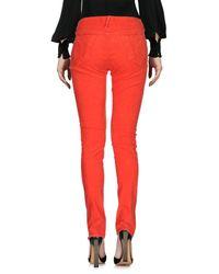 Evisu - Orange Casual Pants - Lyst