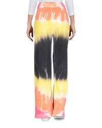 Off-White c/o Virgil Abloh Yellow Casual Trouser