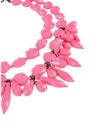 P.A.R.O.S.H. - Pink Necklaces - Lyst