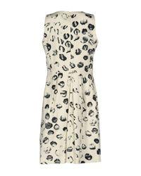 Roberta Scarpa - White Knee-length Dress - Lyst