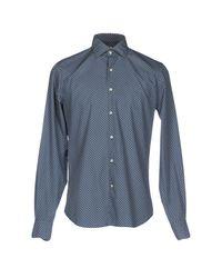 Xacus - Blue Shirt for Men - Lyst