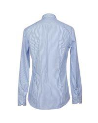 Salvatore Piccolo - Blue Shirts for Men - Lyst