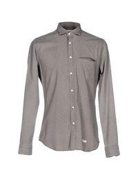 Tintoria Mattei 954 - Brown Shirt for Men - Lyst