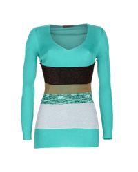 Missoni - Green Sweater - Lyst