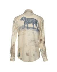 Alexander McQueen - Natural Shirts for Men - Lyst