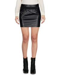 Ki6? Who Are You? - Black Mini Skirt - Lyst