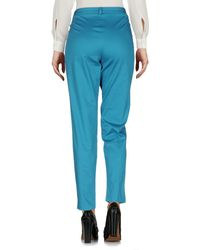 Who*s Who - Blue Casual Trouser - Lyst