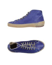 Dondup - Blue High-tops & Sneakers - Lyst