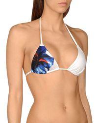 DSquared² - Blue Bikini Top - Lyst