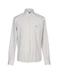 Etro - Green Shirt for Men - Lyst