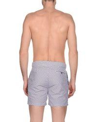 Frescobol Carioca - Gray Swim Trunks for Men - Lyst