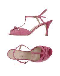 Maria Cristina   Pink Sandals   Lyst