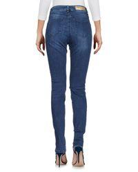 Pennyblack - Blue Denim Pants - Lyst