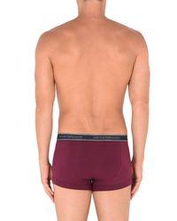 Emporio Armani - Purple Boxer for Men - Lyst