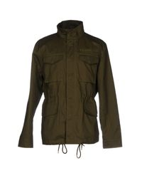 Undefeated - Green Jacket for Men - Lyst