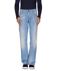 Antony Morato - Blue Denim Pants for Men - Lyst
