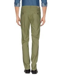 TRUE NYC - Green Casual Trouser for Men - Lyst