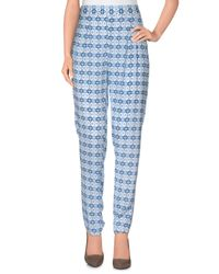 Pepe Jeans - Blue Casual Trouser - Lyst