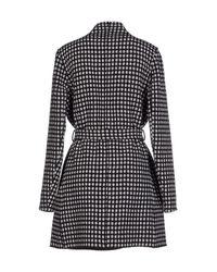 Yiqing Yin Black Overcoat