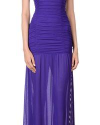 Fisico - Purple Long Dress - Lyst