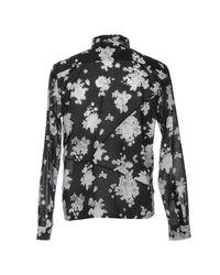 McQ Alexander McQueen - Blue Shirt for Men - Lyst