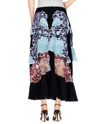 Stella McCartney - Black 3/4 Length Skirt - Lyst