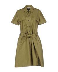 Suoli - Green Short Dress - Lyst