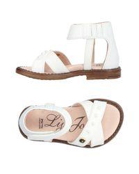Liu Jo - White Sandals - Lyst