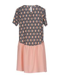 HUITDEGRÉS - Multicolor Short Dresses - Lyst