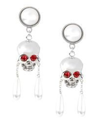 Moschino - Metallic Earrings - Lyst
