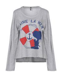 ONLY - Gray Sweatshirts - Lyst