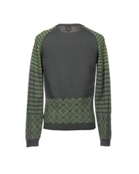 Just Cavalli - Gray Sweaters for Men - Lyst