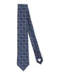 Altea - Blue Tie for Men - Lyst
