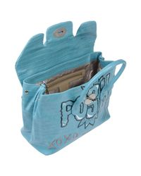 Mia Bag - Blue Handbags - Lyst