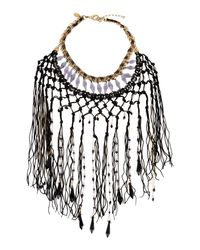 Erickson Beamon - Black Necklace - Lyst