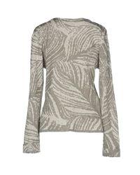 Le Mont St Michel - Gray Sweater - Lyst