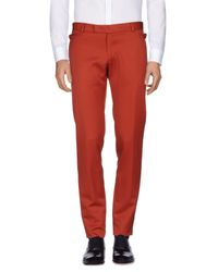 Tonello - Red Casual Pants for Men - Lyst