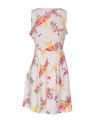Cutie - White Short Dress - Lyst