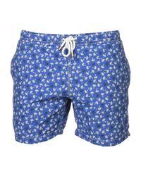 Hartford - Blue Swim Trunks for Men - Lyst