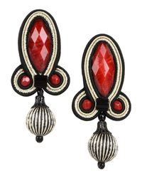 Dori Csengeri - Red Earrings - Lyst