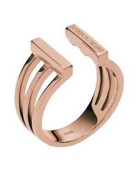 Emporio Armani - Multicolor Ring - Lyst