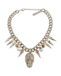 Philipp Plein | Metallic Necklace | Lyst
