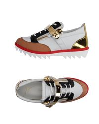 Giuseppe Zanotti | White Low-tops & Trainers | Lyst